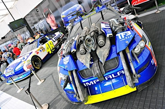 Transformers Nascar 2