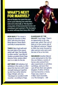 What's Next for Marvel?