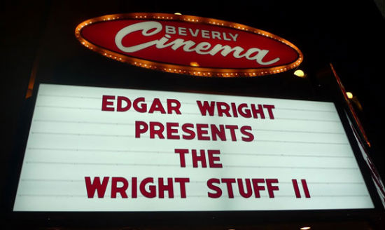 Wright Stuff Marquee