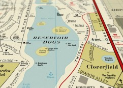 Dorothy's Film Map close-up