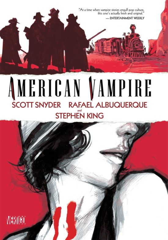 American Vampire comic book - Cover