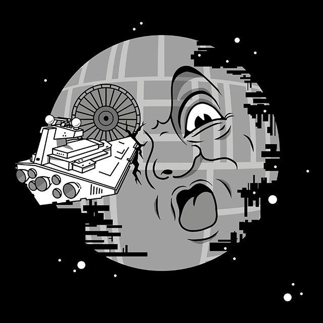 Etoile de la Mort Méliès t-shirt