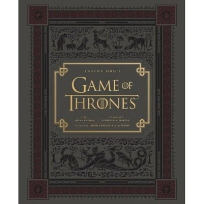 Inside HBO's Game of Thrones Hardcover Book
