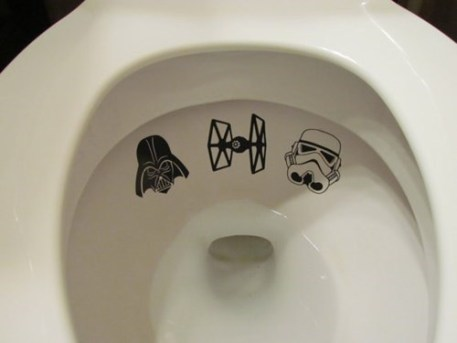 Star Wars Toilet Decals