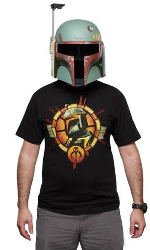 Star Wars Boba Fett Helmet Tee