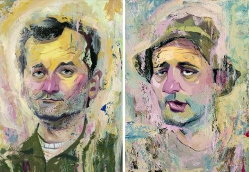 Bill Murray prints from Rich Pellegrino