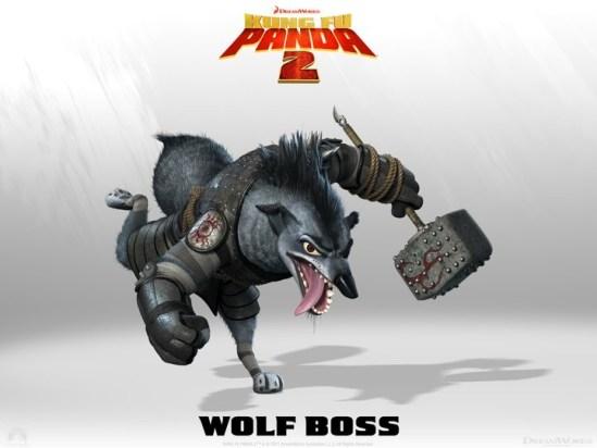 Kung Fu Panda - Wolf Boss