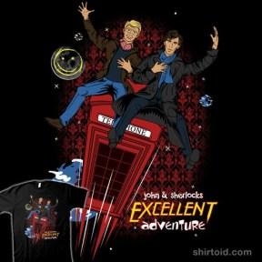 Excellent Adventure t-shirt