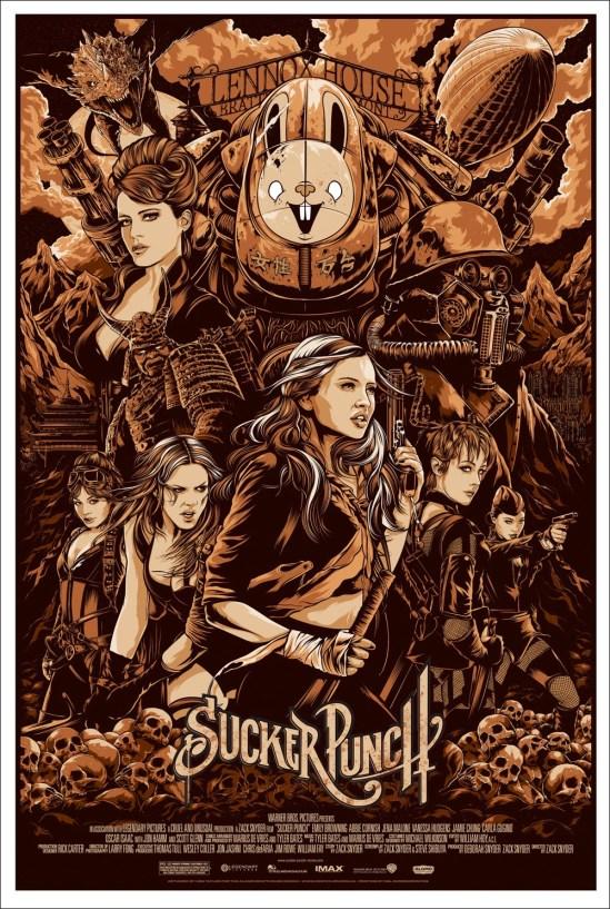 Ken Taylor's Sucker Punch Poster Variant
