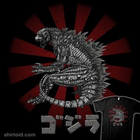 King of all Kaiju t-shirt