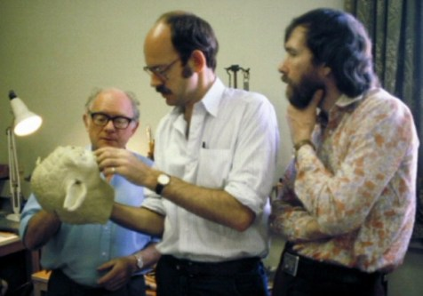 Jim Henson, Frank Oz and Yoda