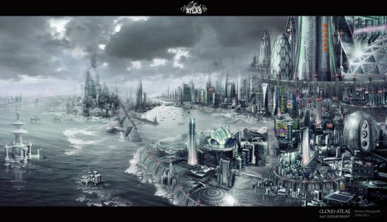Monica Manganelli's concept art created for Cloud Atlas