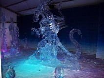 Alien Queen Ice Sculpture