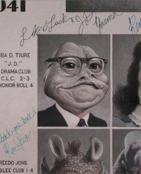 """Jabba the Hutt High School Reunion"" by C.F. Payne"