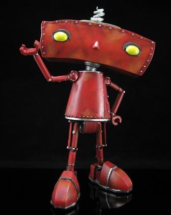 Bad Robot Statue