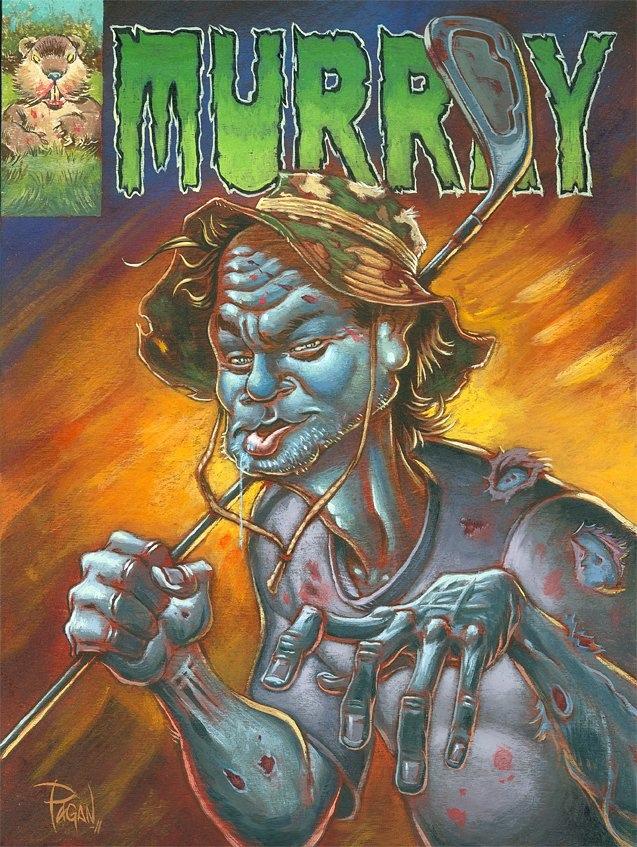 Augie Pagan's Zombie Bill Murray