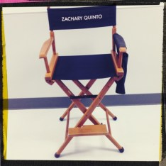 Zachary Quinto's Star Trek 2 chair