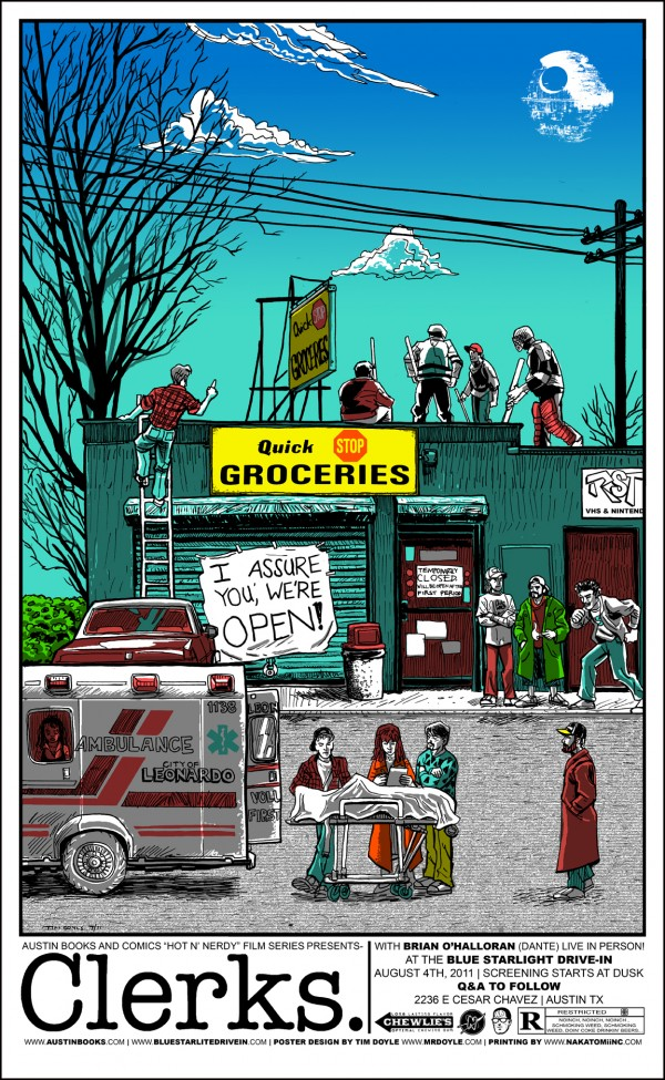 Tim Doyle Clerks regular