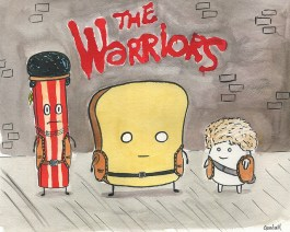 Dan Goodsell inspired by The Warriors