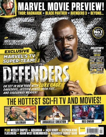 The Defenders - Luke Cage - SFX Cover