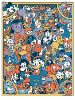 disney afternoon - james silvani