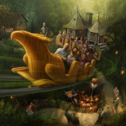 The Wizarding World of Harry Potter - Flight Of The Hippogriff
