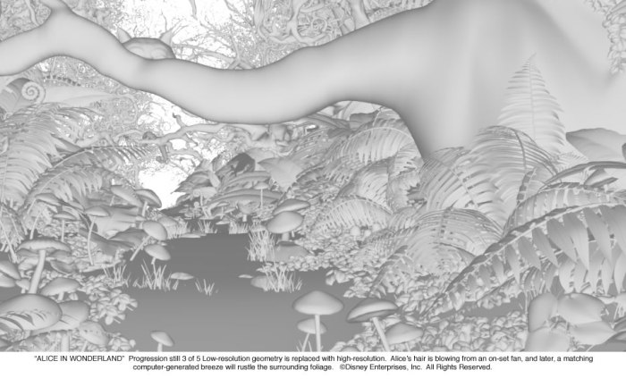 Alice in Wonderland: Forest Progression 3 of 5