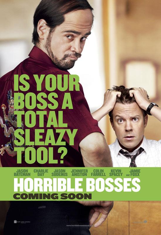 Horrible Bosses Poster Sudeikis Farrell