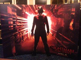 A Nightmare on Elm Street Standee