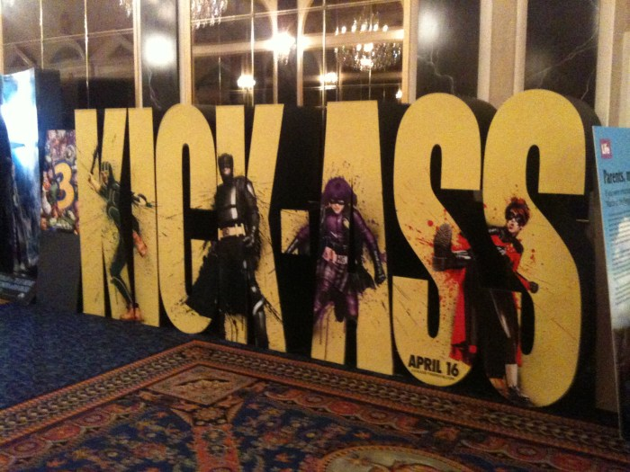 Kick-Ass Standee