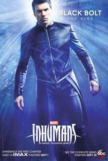 Inhumans - Black Bolt Poster