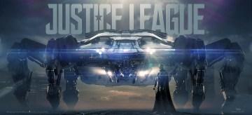 Justice League Knightcrawler Concept Art