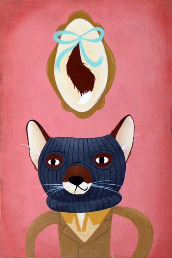 Lauren Gregg - Wes Anderson art