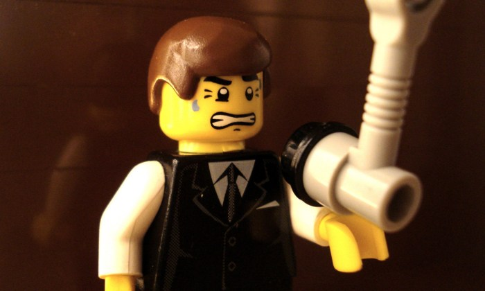 Lego King's Speech