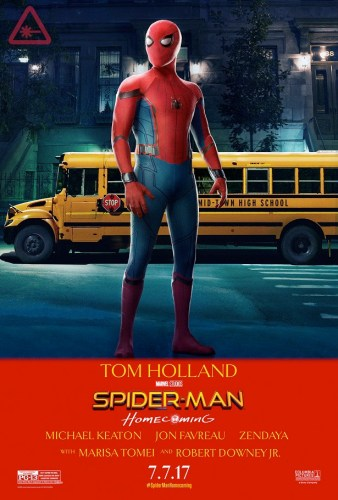 Spider-Man Homecoming - Taxi Driver Poster