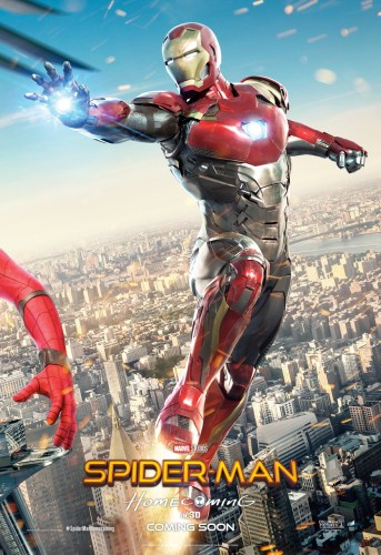Spider-Man Homecoming Triptych Poster