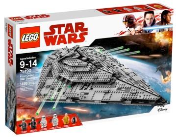 Star Wars The Last Jedi - LEGO Star Destroyer