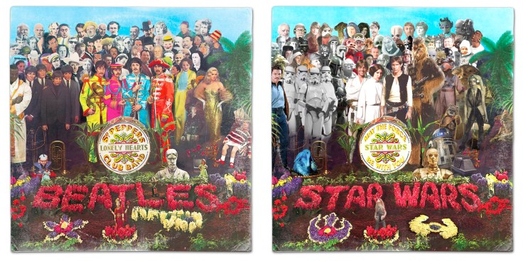 Potd We Wish These Star Wars Vinyl Mash Up Albums Were Real