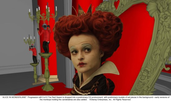 Alice in Wonderland: The Red Queen Progression 3 of 6