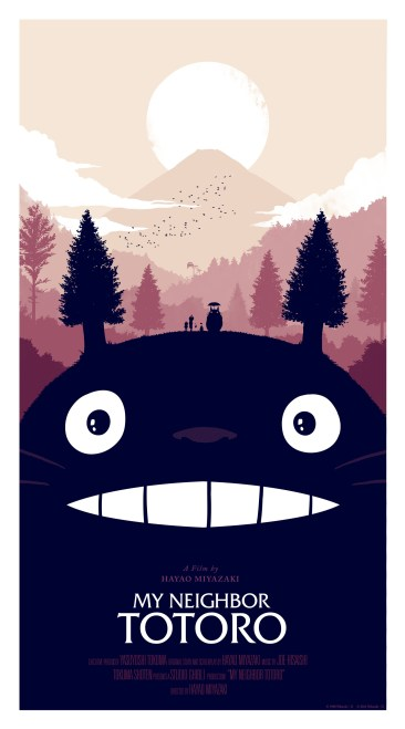 Olly Moss - My Neighbor Totoro