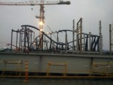 tron ride construction 2