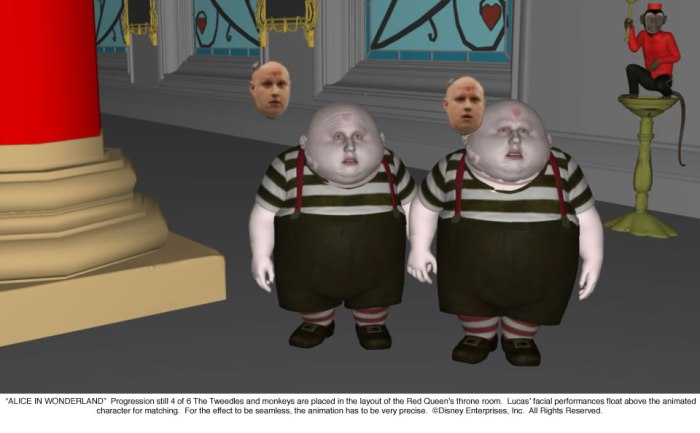 Alice in Wonderland: Tweedles Progression 4 of 6