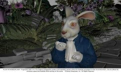 Alice in Wonderland: White Rabbit Progression 2 of 5