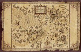 The Wizarding World of Harry Potter - Map