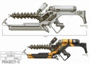 District 9 Alien Weapon Concept Art
