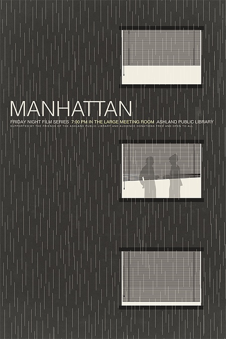 Brandon Schaefer's Manhattan Movie Poster