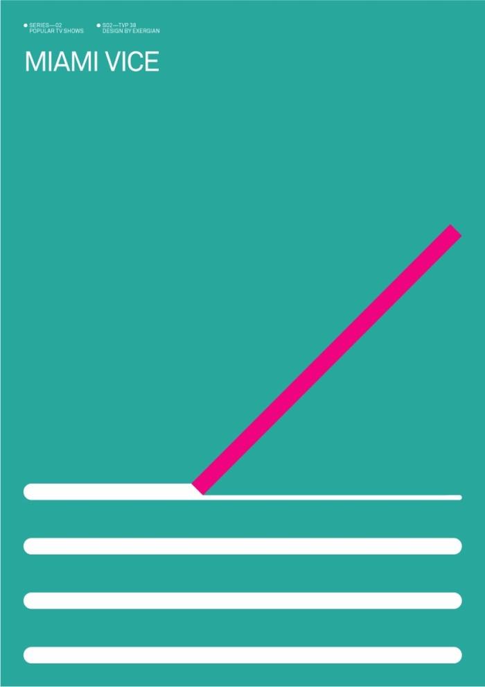 Albert Exergian's Miami Vice Poster