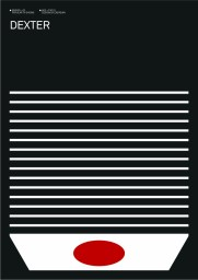 Albert Exergian's Minimalistic Dexter Poster
