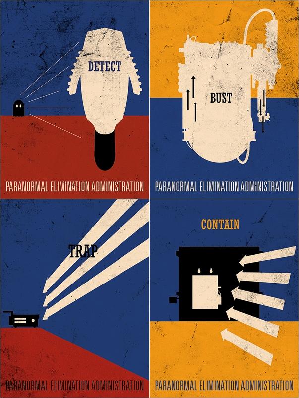 Brandon Schaefer's Ghostbusters Movie Poster