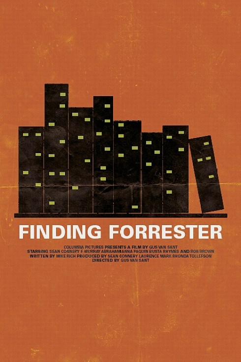 Brandon Schaefer's Finding Forrester Movie Poster